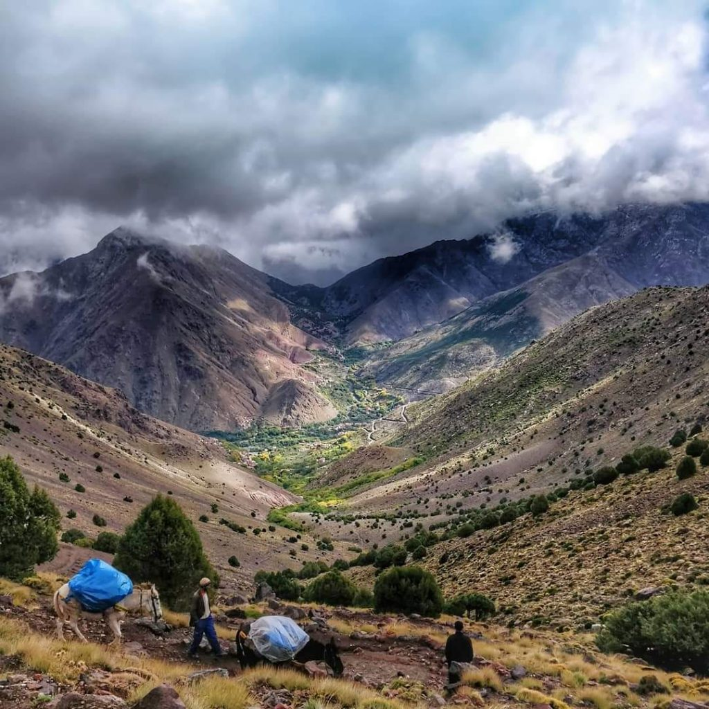 atlas mountain trekking 4 days